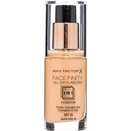 Max Factor Facefinity All Day Flawless 3 in 1 Foundation SPF20 #48 Warm Nude