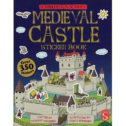 Scribblers Fun Activity Medieval Castle Sticker Book