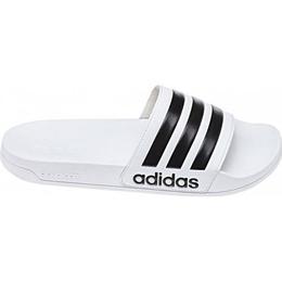 Adidas Adilette Cloudfoam Slides - Black/White