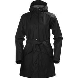 helly hansen kirkwall raincoat black se priser 2 butikker. Black Bedroom Furniture Sets. Home Design Ideas