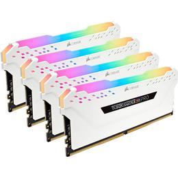 Corsair Vengeance RGB LED Pro White DDR4 3600MHz 4x16GB (CMW64GX4M4K3600C18W)