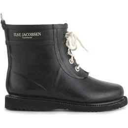 Ilse Jacobsen Short Rubberboot W - Black