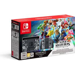 Nintendo Switch - Grey - 2018 - Super Smash Bros. Ultimate