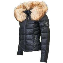RockandBlue Chill Down Jacket - Black/Natural (Faux Fur)