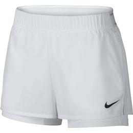 Nike Court Flex Shorts Women - White