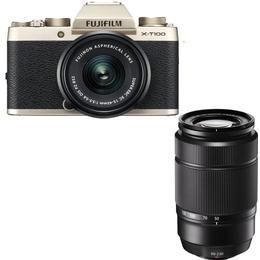 Fujifilm X-T100 + XC 15-45mm + 50-230mm OIS II