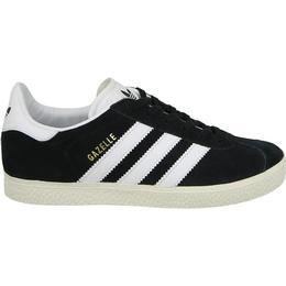 Adidas Kid's Gazelle - Core Black/Running White/Gold Metallic