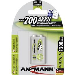 Ansmann NiMH 200mAh MaxE Compatible