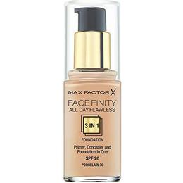 Max Factor Facefinity All Day Flawless 3 in 1 Foundation SPF20 #30 Porcelain