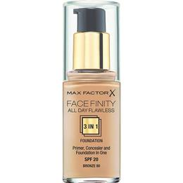 Max Factor Facefinity All Day Flawless 3 in 1 Foundation SPF20 #80 Bronze