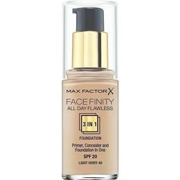 Max Factor Facefinity All Day Flawless 3 in 1 Foundation SPF20 #40 Light Ivory