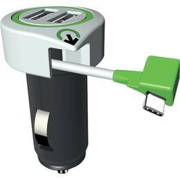 q2power Triple USB Car Charger C