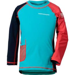 Didriksons Surf Kid's Long Sleeve UV Top - Pale Turquoise (501729-231)