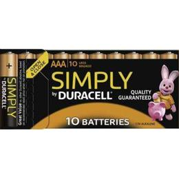 Duracell AAA Simply Compatible 10-pack