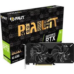 Palit Microsystems GeForce RTX 2060 Dual (NE62060018J9-1160A)