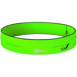 FlipBelt Classic Running Belt - Neon Green