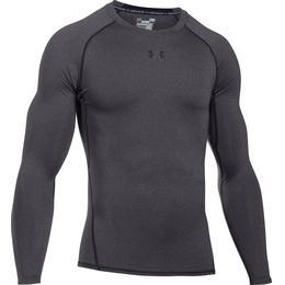 Under Armour HeatGear Armour Long Sleeve Compression Shirt - Gray