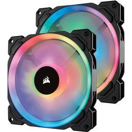 Corsair LL140 Dual Light Loop LED RGB 140mm Two Pack
