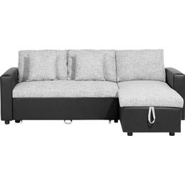 Beliani Tampere Left-Hand Sofa 3 pers.