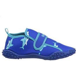 Playshoes Aqua Sharks - Original Blue