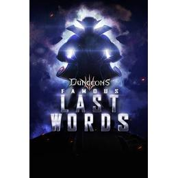 Dungeons III: Famous Last Words