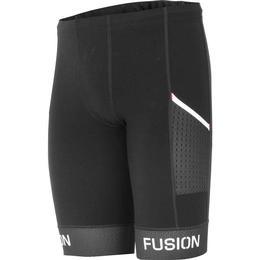 Fusion SLIP Run Tights Pocket Unisex - Black/Black