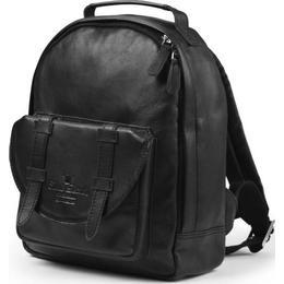 Elodie Details Backpack Mini - Black Leather