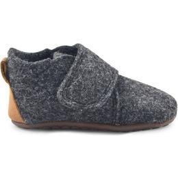 Pom Pom Hjemmesko - Anthracite Wool