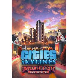 Cities: Skylines - Content Creator Pack - University City