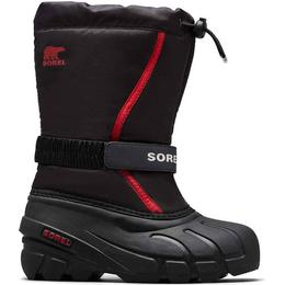 Sorel Youth Flurry - Black/Bright Red