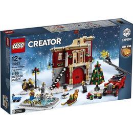 Lego Creator Vinterlandsbyens brandstation 10263