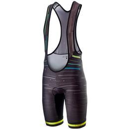 Castelli Tabula Rasa Bib Shorts Men - Multicolor/Black/Yellow Fluo