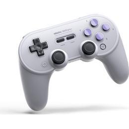 8Bitdo SN Edition SN30 Pro+ Controller - White