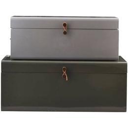 House Doctor Metal 60cm 2-pack Opbevaringskasse