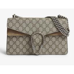 Gucci Dionysus Small GG Shoulder Bag - Beige/Ebony