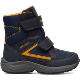 Geox Kuray Abx Boy - Navy Blue/Yellow