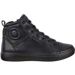 Ecco S7 Teen High Sneakers - Black