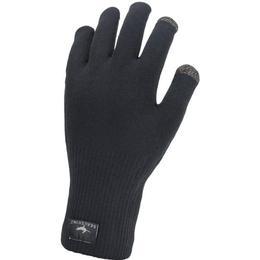 Sealskinz Ultra Grip Knitted Gloves Unisex - Black