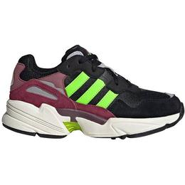Adidas Junior Yung 96 - Core Black/Solar Green/Collegiate Burgundy