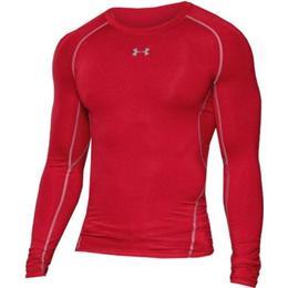 Under Armour HeatGear Armour Long Sleeve Compression Shirt Men - Red
