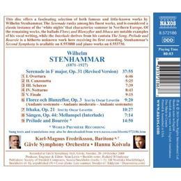 Gavle SO - Stenhammar: Serenade (Serenade / Florez And Blanzeflor / Ithaca / Prelude and Bourree)
