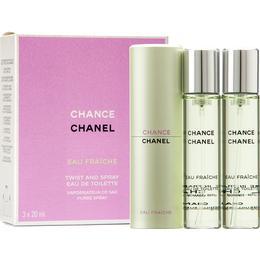 Chanel Chance Eau Fraiche EdT + Refill