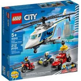 Lego City Politihelikopterjagt60243