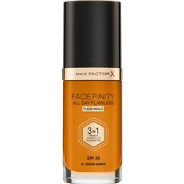 Max Factor Facefinity All Day Flawless 3 in 1 Foundation SPF20 #91 Warm Amber
