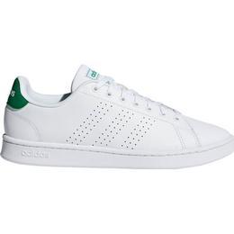 Adidas Kid's Advantage - Cloud White/Green/Grey Two