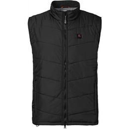 Nordic Heat Heating Quilted Vest Men - Black