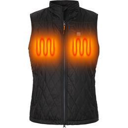 Nordic Heat Heating Quilted Vest Women - Black