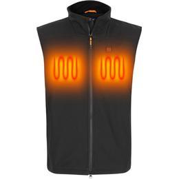 Nordic Heat Softshell Vest Men - Black