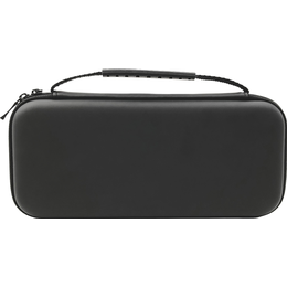 Piranha Nintendo Switch Console Carry Case and Tempered Glass - Black