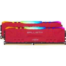 Crucial Ballistix Red RGB LED DDR4 3600MHz 2x8GB (BL2K8G36C16U4RL)
